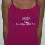 Walkabout T Ladies Singlet Boabtree Print Pink